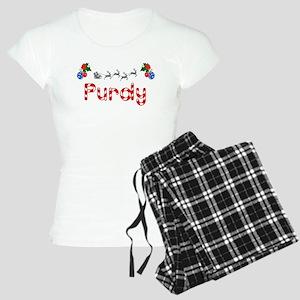Purdy, Christmas Women's Light Pajamas