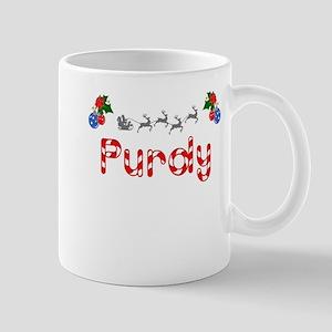 Purdy, Christmas Mug