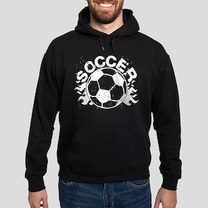 Soccer Flames Hoodie (dark)