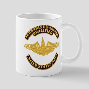 Navy - Sub Warfare - Gold Mug