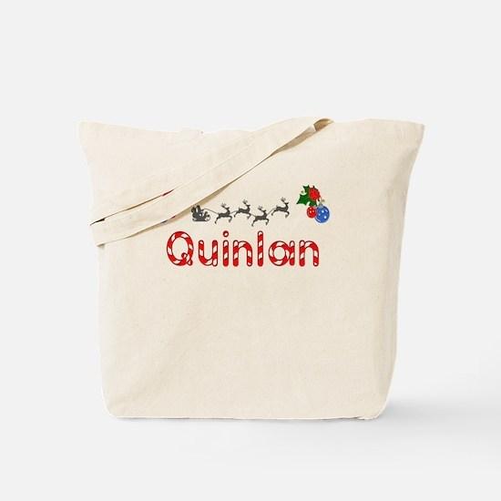 Quinlan, Christmas Tote Bag