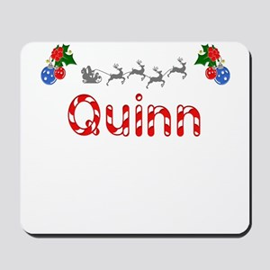 Quinn, Christmas Mousepad