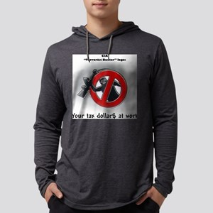 terroristbusters Mens Hooded Shirt
