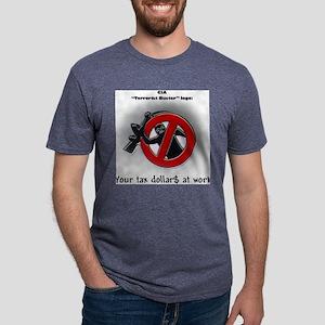 terroristbusters Mens Tri-blend T-Shirt