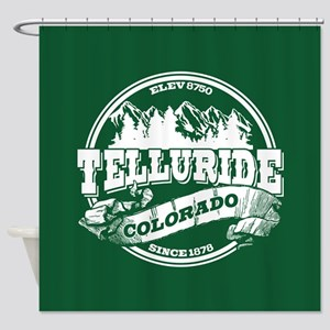 Telluride Old Circle Shower Curtain