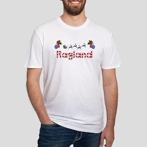 Ragland, Christmas Fitted T-Shirt