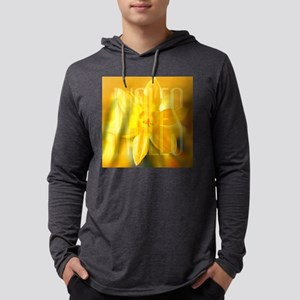 DAFFODILTILE Mens Hooded Shirt