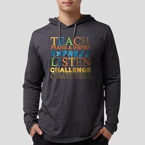 Teacher Creed Mens Hooded Shirt