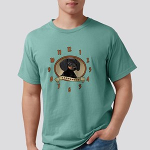 dogclock Mens Comfort Colors Shirt