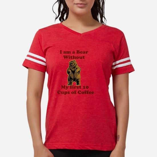 I am a bear Womens Football Shirt
