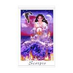 Scorpio Rectangle Sticker