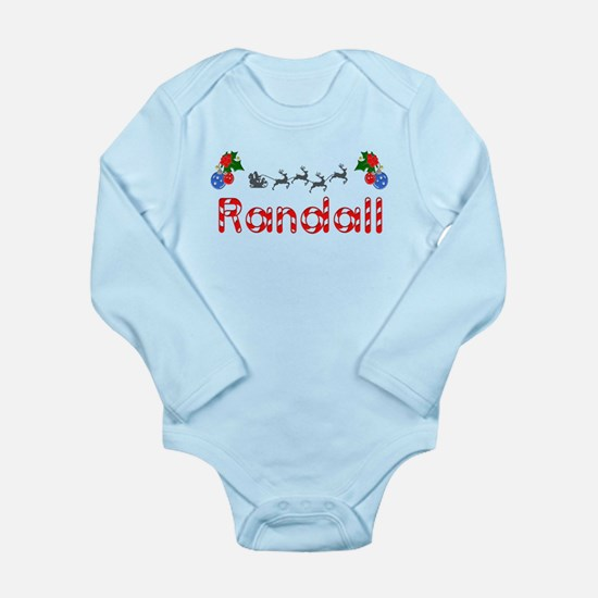 Randall, Christmas Long Sleeve Infant Bodysuit