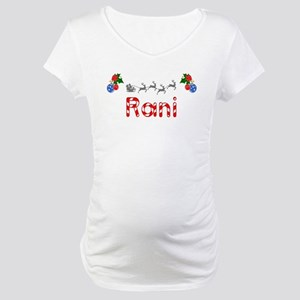 Rani, Christmas Maternity T-Shirt