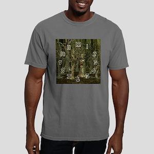 2-hauntedForestGiantCloc Mens Comfort Colors Shirt