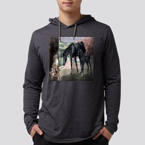 horses til Mens Hooded Shirt