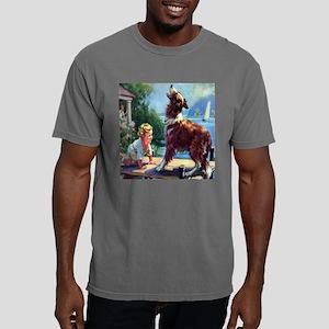 collie bark til Mens Comfort Colors Shirt