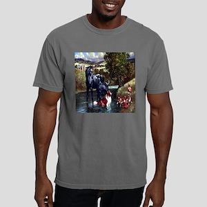 horse  dog til Mens Comfort Colors Shirt