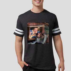 collie doghouse til Mens Football Shirt