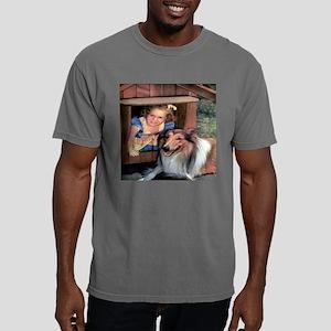 collie doghouse til.jpg Mens Comfort Colors Shirt