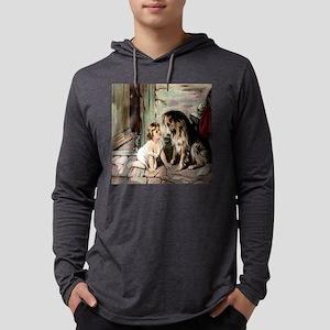 collie  cat til Mens Hooded Shirt