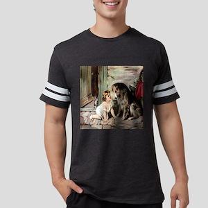 collie  cat til Mens Football Shirt