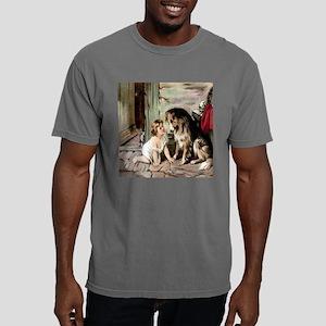 collie  cat til.jpg Mens Comfort Colors Shirt