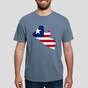 Liberia Mens Comfort Colors Shirt