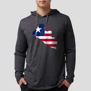 Liberia Mens Hooded Shirt