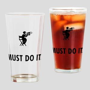 Movie Directing Drinking Glass