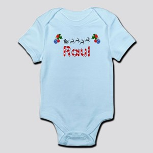 Raul, Christmas Infant Bodysuit
