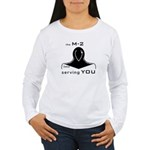 M-2 Ad black Women's Long Sleeve T-Shirt