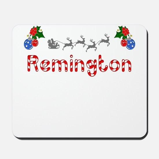 Remington, Christmas Mousepad