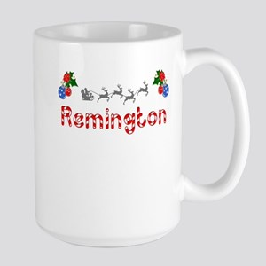Remington, Christmas Large Mug