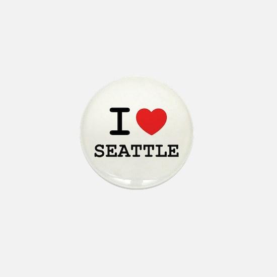 I LOVE SEATTLE Mini Button
