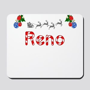 Reno, Christmas Mousepad