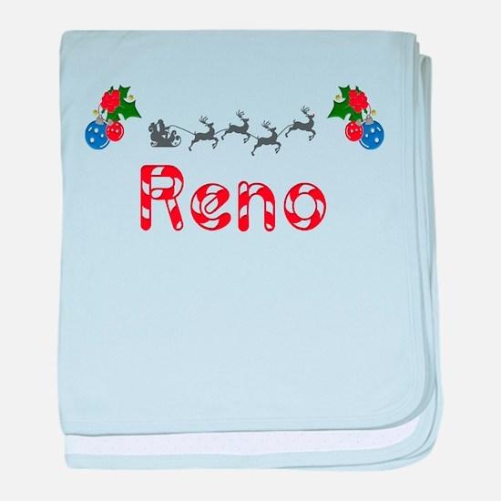 Reno, Christmas baby blanket