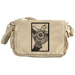 Bird in a Box Messenger Bag