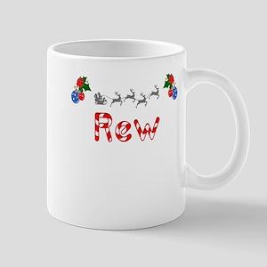 Rew, Christmas Mug