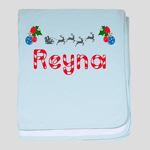 Reyna, Christmas baby blanket