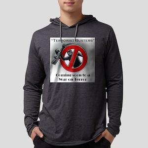terroristbustersneighborhood Mens Hooded Shirt