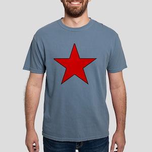 Red Star Mens Comfort Colors Shirt