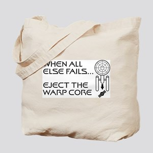 Eject the Warp Core Tote Bag
