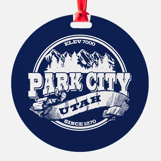 Park City Old Circle Ornament