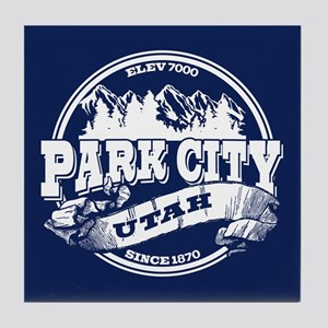 Park City Old Circle Tile Coaster