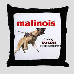 extrememal Throw Pillow