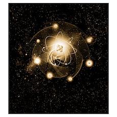 Atom, artwork Poster