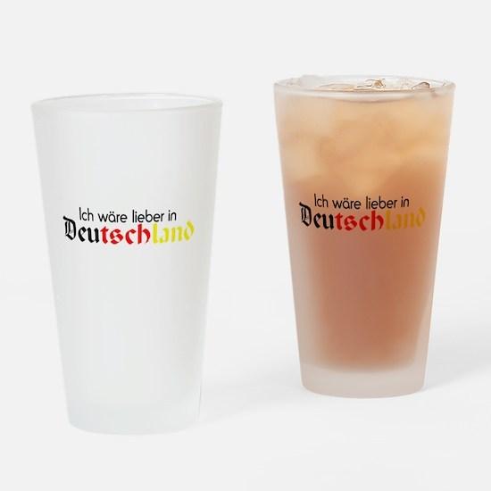 Germany Drinking Glass