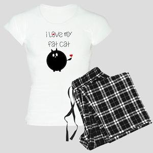 I Love My Fat Cat Women's Light Pajamas