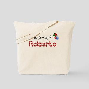 Roberto, Christmas Tote Bag