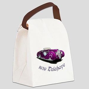 1939 Delahaye Canvas Lunch Bag